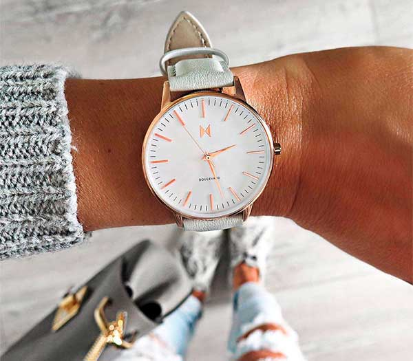 Bouleward Beverly Gray - MVMT Watch Review